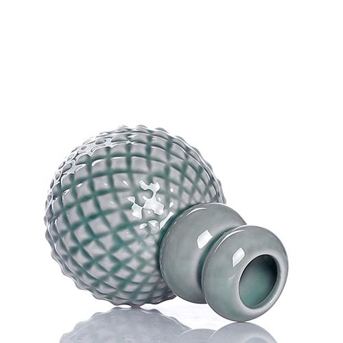 Набор Dottir Samsurium Minibell blue из трех маленьких ваз, фото