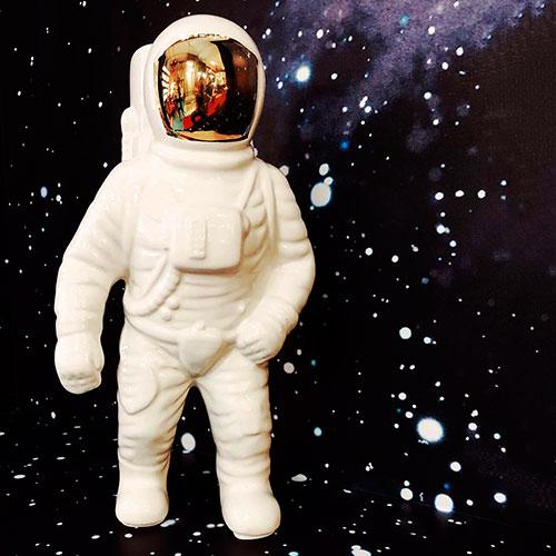 Фарфоровая ваза Seletti Астронавт, фото
