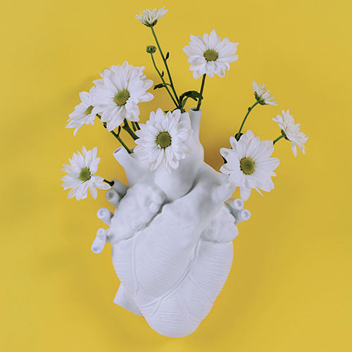 Фарфоровая ваза Seletti Сердце, фото