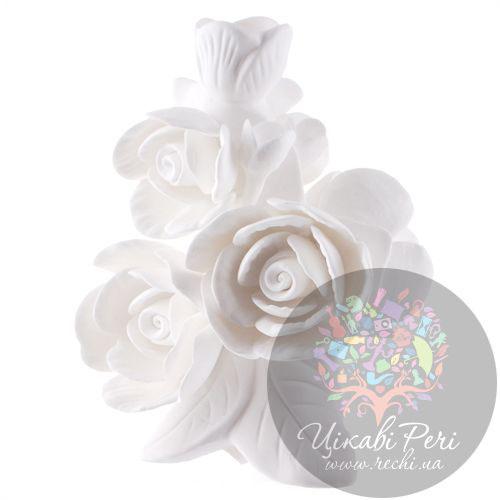 Ваза Цветы Розы Enesco из бисквитного фарфора, фото