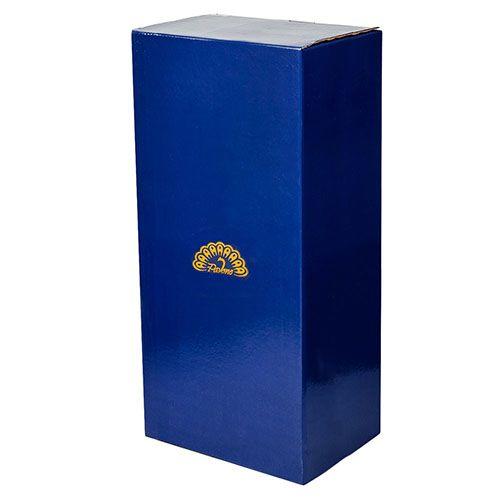 Белая фарфоровая ваза Pavone FM Тропические лягушки средняя, фото
