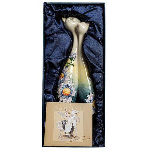 Статуэтка-ваза Pavone JP Кошки в подсолнухах, фото