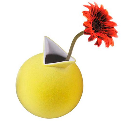 Ваза PO Selected Cuco желтая, фото