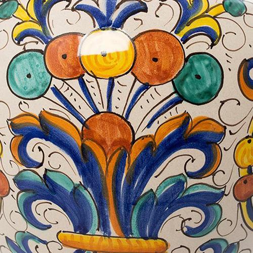 Ваза L'Antica Deruta Ricco с орнаментом, фото