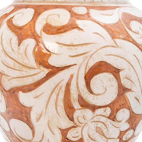 Ваза L'Antica Deruta Scalfito керамическая, фото