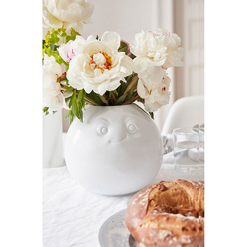 Фарфоровая ваза Tassen Amused white, фото