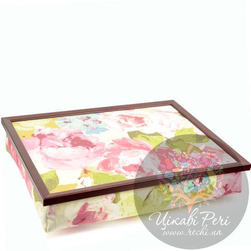 Поднос на подушке Margot Steel Designs Весенние цветы, фото
