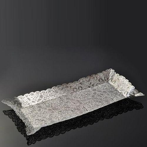 Поднос Metalace с ажуром Sultana ручной работы, фото
