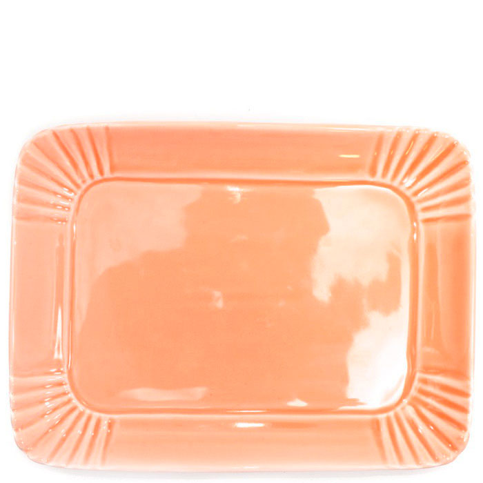Поднос Palais Royal Зефир оранжевого цвета