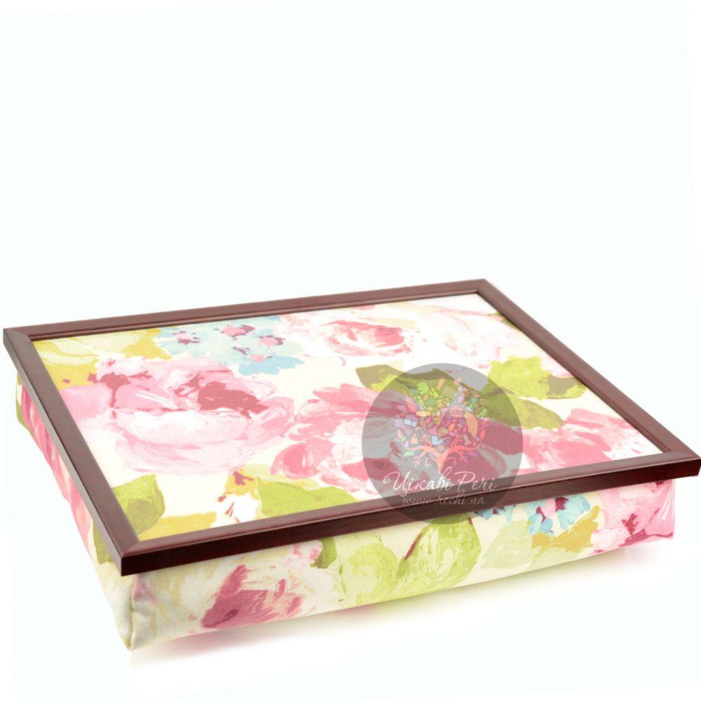 Поднос на подушке Margot Steel Designs Весенние цветы
