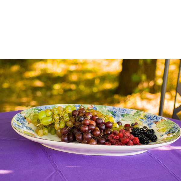Поднос керамический Bizzirri Frutta