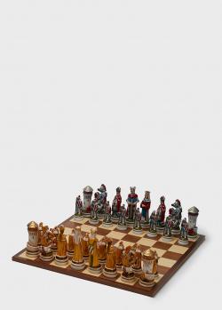Шахматные фигуры Nigri Scacchi Средневековый рыцарский турнир большого размера, фото