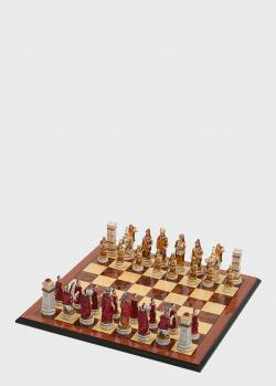 Шахматные фигуры большого размера Nigri Scacchi Бой римлян с варварами, фото