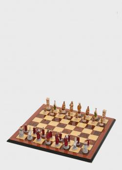 Шахматные фигуры Nigri Scacchi Бой римлян с варварами среднего размера, фото