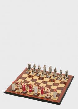 Шахматные фигуры Nigri Scacchi Троянская битва среднего размера, фото