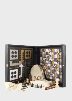 Набор Manopoulos Modern Style 4 в 1 Combo в деревянном футляре, фото