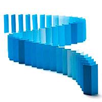 Карточное домино Monkey Business Topple синее, фото