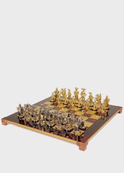 Шахматы Manopoulos Мушкетеры красного цвета, фото
