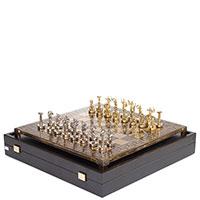 Шахматы Manopoulos Битва титанов из латуни, фото