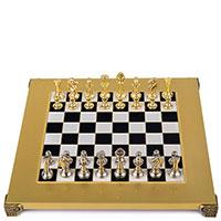 Классические шахматы Manopoulos Metal Staunton, фото