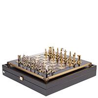 Шахматы Manopoulos Минойский воин коричневые, фото