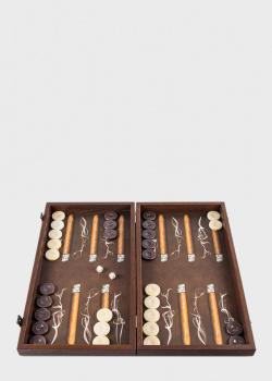 Нарды Manopoulos Robusto с принтом из сигарет, фото