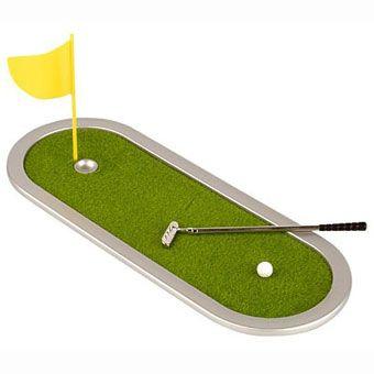 Настольный гольф  Romanowski с длиной поля 18см, фото