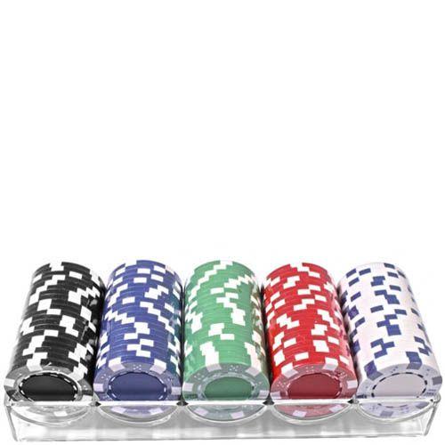 Набор из 100 фишек для игры в покер