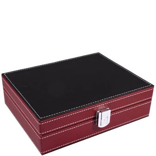 Набор для игры в покер в подарочном кожаном кейсе