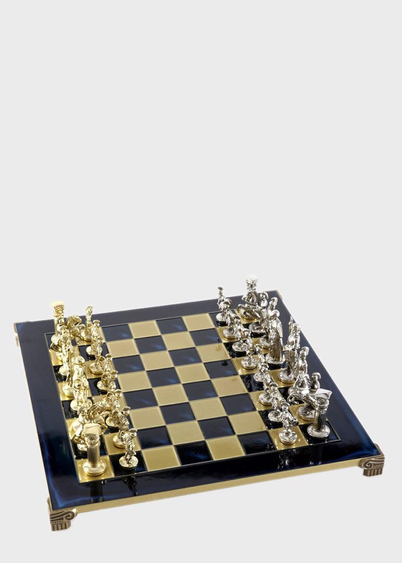 Шахматы Manopoulos Греко-римские из латуни