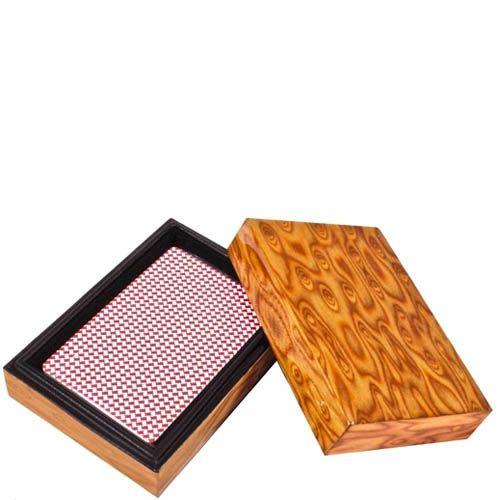 Карты в деревянной коробке, фото