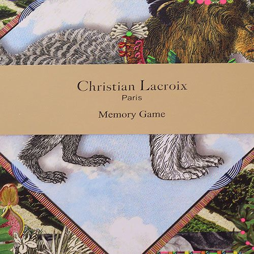 Игра Christian Lacroix для развития фотографической памяти, фото