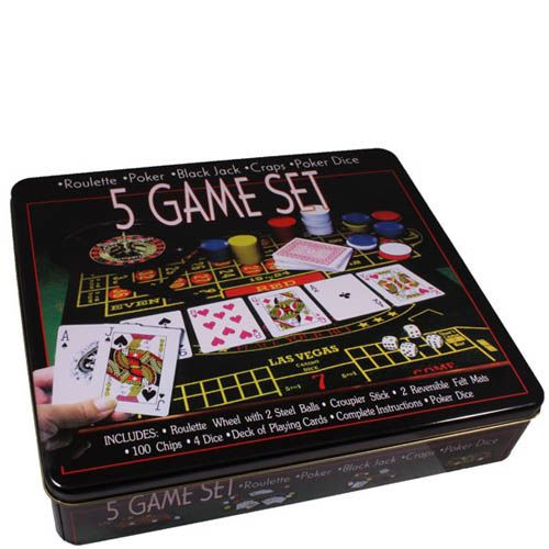 Набор из 5 игр Hong Kong Казино, фото