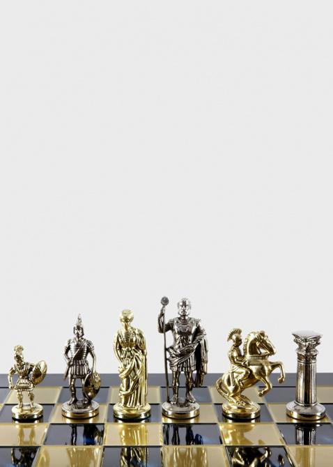 Шахматы Manopoulos Греко-римские из латуни, фото
