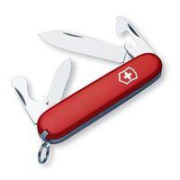 Нож Victorinox Recruit красный (10 предметов), фото