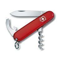 Нож Victorinox Waiter красный (9 предметов), фото