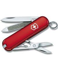 Нож Victorinox Сlassic красный (7 предметов), фото