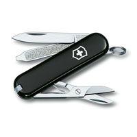 Нож Victorinox Classic черный (7 предметов), фото
