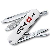 Нож Victorinox Classic The Gift белый (7 предметов) лимитированная серия, фото