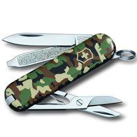 Нож Victorinox Classic камуфляж (7 предметов), фото