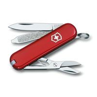 Нож Victorinox Classic красный (7 предметов), фото