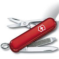 Нож Victorinox SwissLite красный (7 предметов), фото