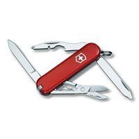 Нож Victorinox Rambler красный (10 предметов), фото