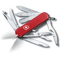 Нож Victorinox Midnite Minichamp красный (16 предметов), фото