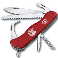 Нож Victorinox Equestrian красный (12 предметов), фото