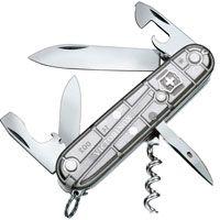 Нож Victorinox Spartan полупрозрачный серебристый (12 предметов), фото