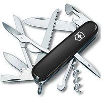 Нож Victorinox Huntsman черный (15 предметов), фото
