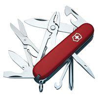Нож Victorinox Deluxe Tinker красный (17 предметов), фото