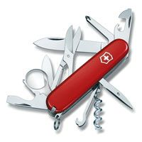 Нож Victorinox Explorer красный (16 предметов), фото