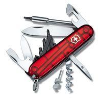 Нож Victorinox CyberTool полупрозрачный красный (29 предметов), фото